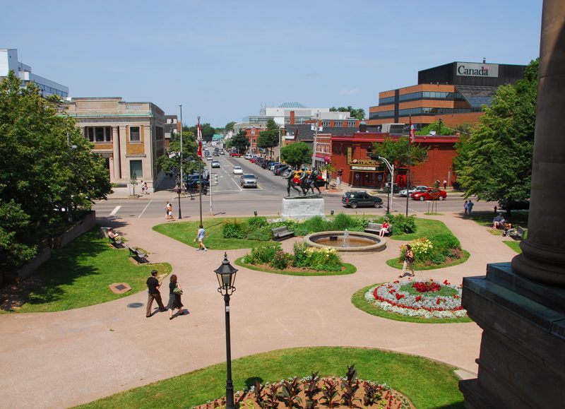 Charlottetown, PEI town and park.