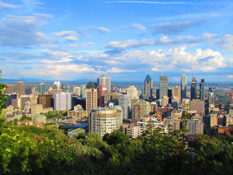 City Landscape of Montreal