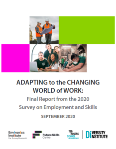 Adapting to the Changing World of Work Report Cover