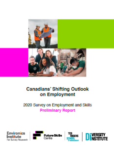 Canadians' Shifting Outlook on Employment - Preliminary Report
