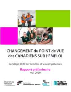 Candians' Shifting Outlook on Employment Cover Page - FR