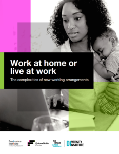 Work at home or live at work report Cover Page