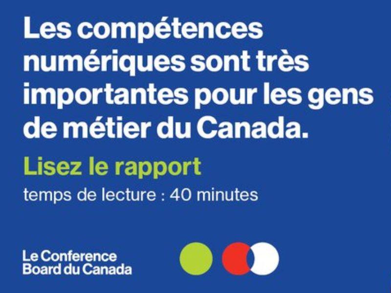 Combler le fossé générationel : Améliorer les compétences numériques dans l'écosystème de l'apprentissage et des métiers spécialisés au Canada