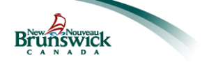 New Brunswick Ministry of Education and Early Childhood Development Logo