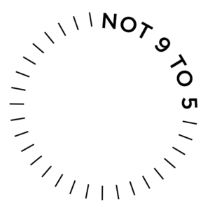 not 9 to 5 logo