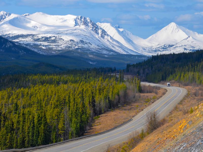 Image of Yukon landscape.