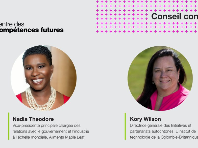 Social card with photos of new advisory board members, Kory Wilson and Nadia Theodore