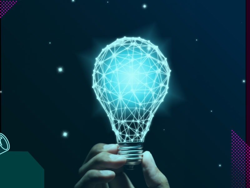 Animated lightbulb